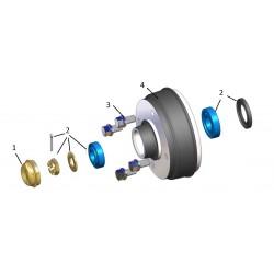 Kit roulements 1000 à 1300kg 4T130 KNOTT (PAILLARD)