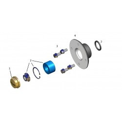 Kit roulements 750-900kg KNOTT (PAILLARD)